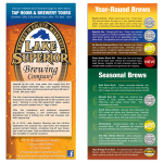 Rack Card / Flyer: Micro Brewery
